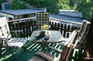Großer Balkon Ferienwohnung Sperlingslust